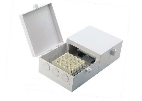 Fire Resistant Weatherproof DB Box , Back Mount  100 Pair ABS Distribution Box