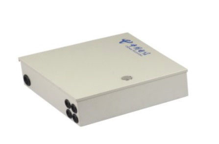 Outdoor / Indoor Waterproof Terminal Box , 24 Core Wall Mounted FDB Optical Splitter Box